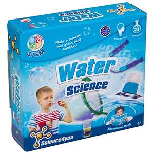 Science 4 You Water Science Kit Educational Science Toy STEM Toy (Packing may vary) £4.82 + £4.49 Non Prime @ Amazon