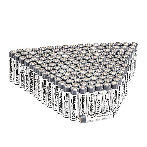 150 Pack amazon basics AAA Industrial Alkaline Batteries, £20.80 (UK Mainland) at Amazon Spain