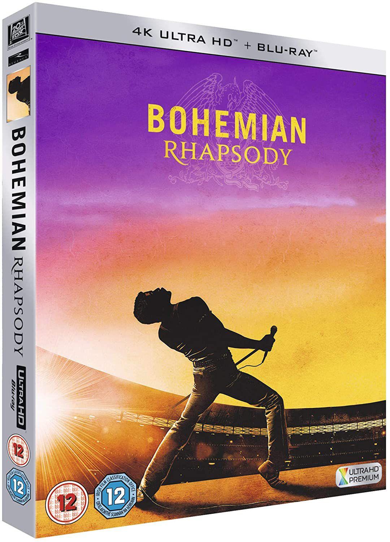 Bohemian Rhapsody 4K UHD Blu-ray [2018] £9.99 (£2.99 p&p non prime) @ Amazon