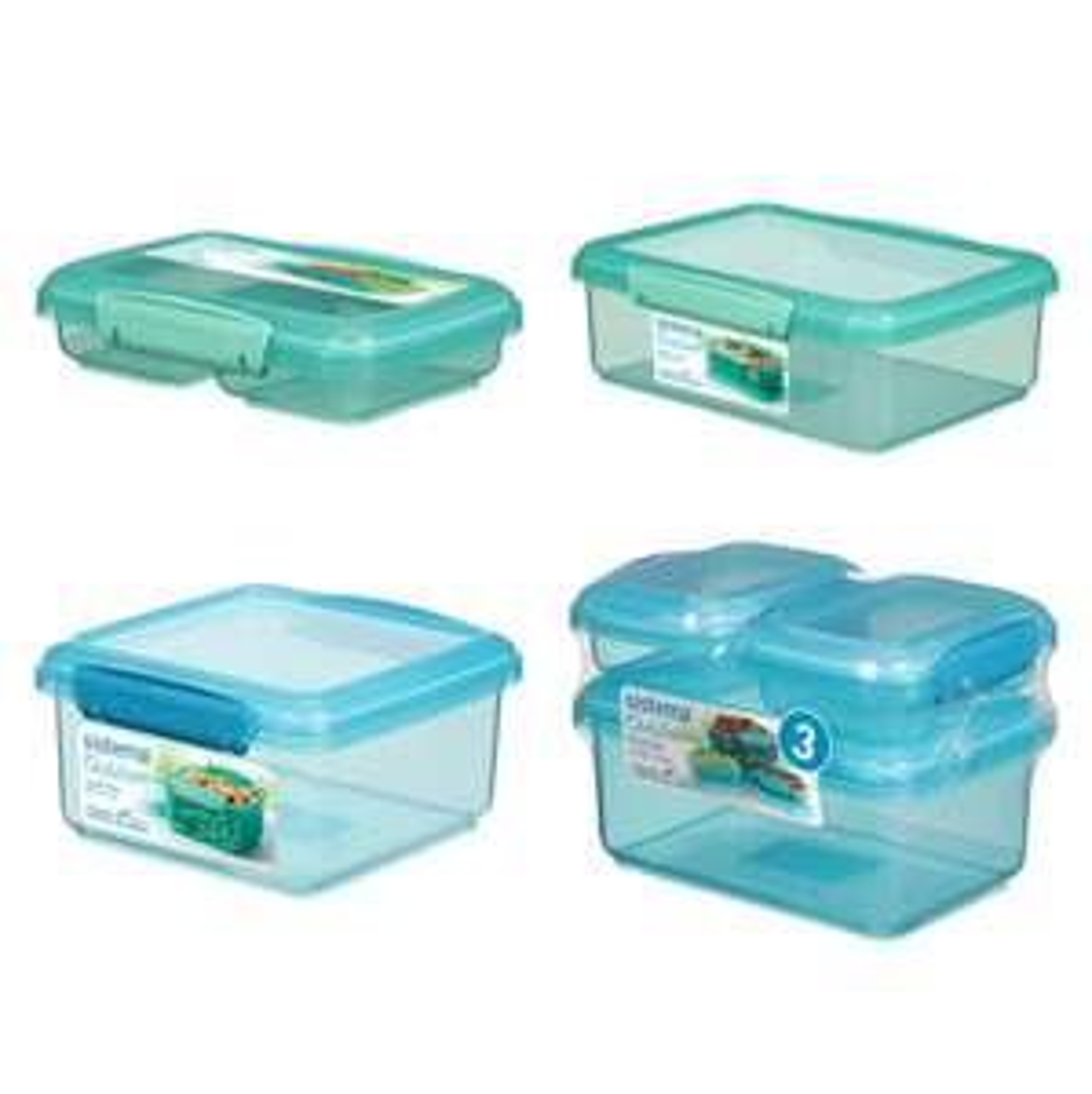 Half price Sistema Containers (Clubcard) @ Tesco e.g. Sistema Outdoor Split £1.50