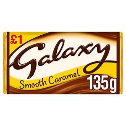 Galaxy Caramel Chocolate Bar - Pack of 24 x 135G £12.37 Prime (+£4.49 Non-Prime) @ Amazon