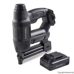 18G Cordless Nailer and Stapler, inc Battery - £89.99 + £4.99 Delivery @ Rutlands