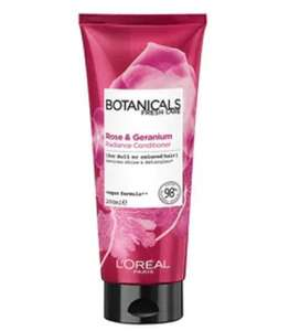 L'Oreal Botanicals Rose & Geranium Conditioner (Vegan) 200ml - Only 80p - free click & collect (Limited Stores) @ Superdrug