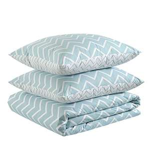 Amazon Basics 100% Cotton Duvet Cover Set - 140 x 200 cm (Single) £5.79 Free delivery with Prime ( £4.49 Non Prime) @ Amazon