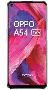OPPO A54 5G £169 + £10 top up PAYG at Vodafone