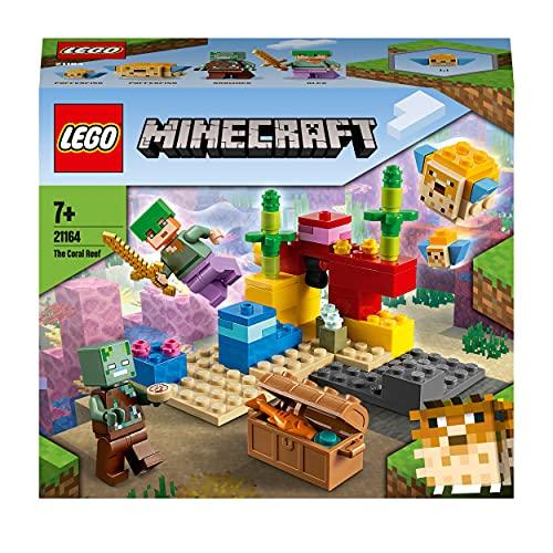 LEGO Minecraft 21164 The Coral Reef £7 (Prime) + £4.49 (non Prime) at Amazon