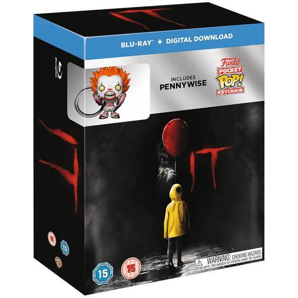 IT Funko Pop! Keyring + Blu Ray Gift Set £4.99 Delivered using code @ Zavvi