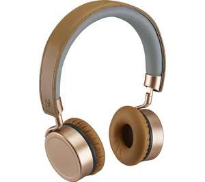 GOJI Collection GTCONRG18 Wireless Bluetooth Headphones - Rosegold £14.97 Delivered / Click and Collect @ Currys PC World