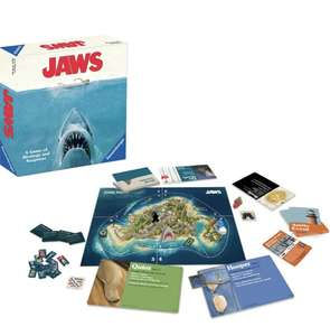 Ravensburger Jaws Strategy Board Game £15 Amazon Prime (+£4.49 Non Prime)
