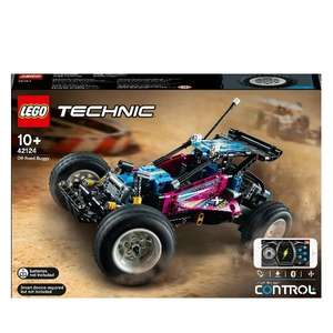 LEGO Technic 42124 Off-Road Buggy App-Controlled Set £86 Delivered using code at Hamleys