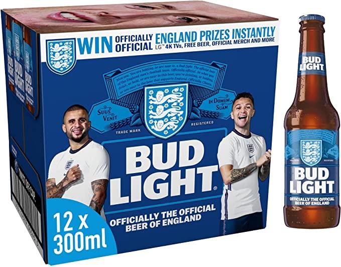 Bud Light 12 x 300ml Bottles £6.99 @ Aldi Heybridge