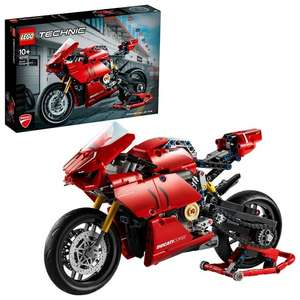 Lego Technic 42107 Ducatti Panigale V4 R Motorbike Model 646 pieces £37.95 at Jadlam Toys and Models