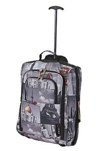 """5 Cities Cabin Approved Trolley Bag 21"""" / 55cm £12.99 (Prime) + £4.49 (non Prime) at Amazon"""