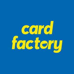 Buy one get one free cards at card factory + free delivery on personalised A5 & Square cards