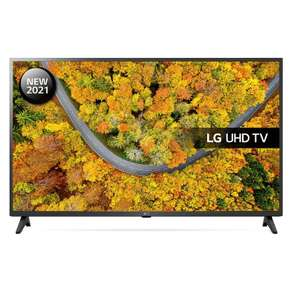 """LG Smart 4K Ultra HD HDR10 LED TV (2021) 43UP75006LF 43"""" - £332.10 or LG 55UP75006LF 55"""" 449.10 with code delivered @ Marks Electrical"""