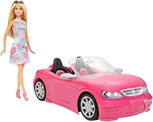 Barbie Doll and Pink Convertible £16.85 at Amazon Prime (+£4.49 Non Prime)