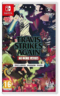 Travis Strikes Again: No More Heroes Nintendo Switch Game £12.99 Delivered (Mainland UK) @ Argos Ebay