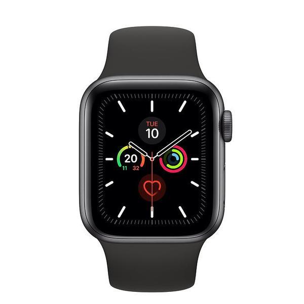Apple Watch Series 5 - Space Grey Aluminium - Sport Band - 40mm / GPS / Black £279.98 at Clove Technology