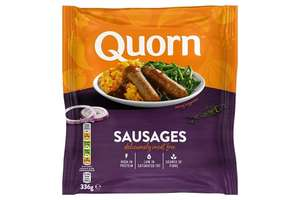 Quorn Sausages (8 pack) £1 at FarmFoods Livingston