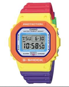 Casio G-Shock DW-5610DN-9ER Psychedelic Colors - 2020 £79 at WatchNation