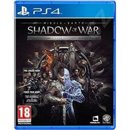 Middle-earth Shadow of War (Silver Edition) (PS4) (New) £7.95 at The Gamery