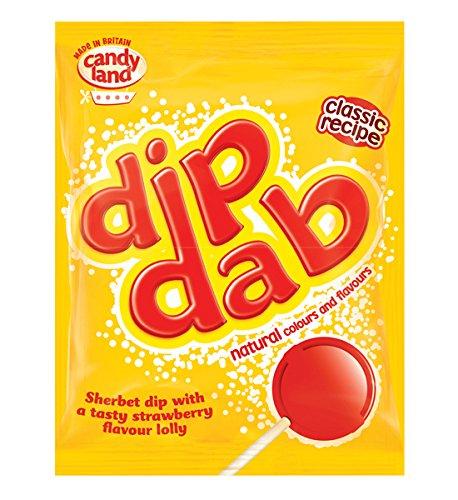 Barratt Dip Dab Strauberry Lolly (23g) - 20 p @ Amazon