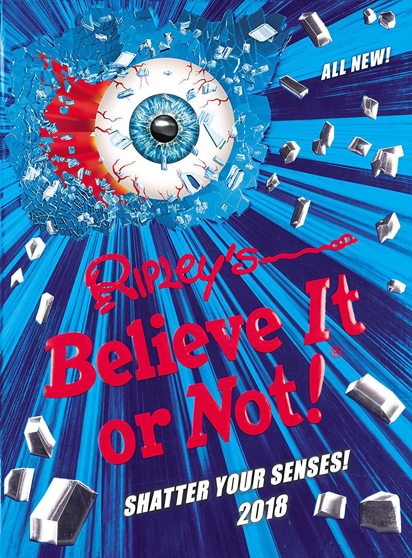 Ripley's Believe It or Not! 2018 (Annuals 2018):Hardcover 94p @ Amazon (£2.99 p&p non prime)