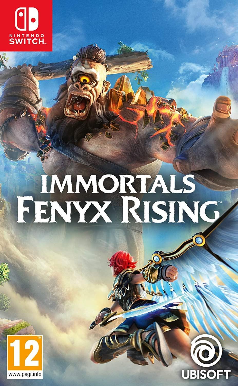 Ubisoft Forward Sale (£10 Off on £14 Games) Immortals Fenyx Rising (Switch) - £14.99 / Watch Dogs Legion £14.99/ AC Odyssey £5.19 @ Ubistore