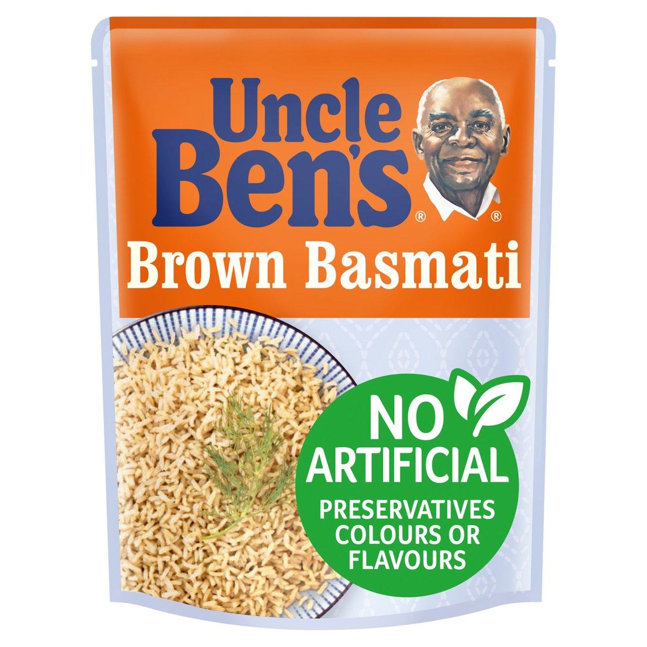 Uncle Bens Brown Basmati 250G or Uncle Ben's Mushroom Rice, 250g 62p @ Sainsbury's Cromwell Rd London
