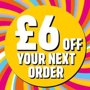 £6 off a £25 spend for existing customers / Selected accounts @ Iceland