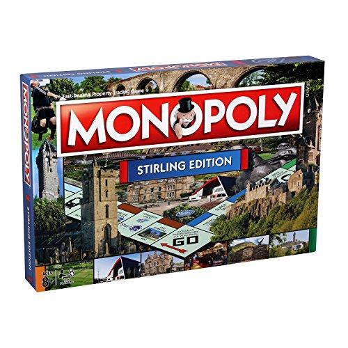 Monopoly Board Game Stirling Edition £11.76 (+£4.49 non prime) @ Amazon
