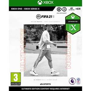 Xbox One FIFA 21: Ultimate Edition now £16.99 +£3.99 delivery @ very