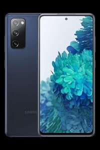 Samsung Galaxy S20 FE 5G Blue Smartphone + 6GB O2 Data / £232.99 Upfront - £15pm - Total Cost - £592.99 @ Affordable Mobiles