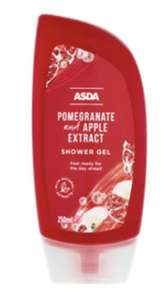 ASDA Pomegranate and Apple Extract Shower Gel - 18p Instore @ Asda Bootle