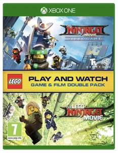 Ninjago lego movie game for xbox with bluray movie - £5 @ Smyths Toys (Free Click & Collect)