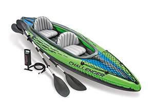 Intex Challenger K2 Inflatable 2 person Kayak with oars, carry bag & pump - £88.37 @ Amazon