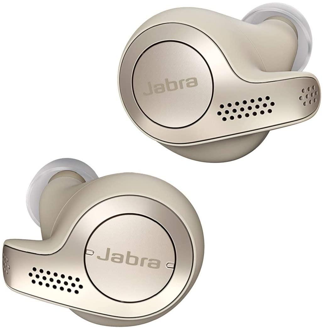 Jabra Elite 65t True Wireless Bluetooth In-Ear Headphones - Gold Beige £22.48 @ Currys PC World (Gateshead)