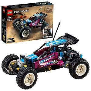 LEGO 42124 Technic Off-Road Buggy CONTROL+ App-Controlled Retro RC Car Toy for Kid £96 @ Amazon