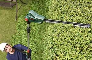 Bosch 06008B3001 Cordless Telescopic Hedge Trimmer (body only) - £86.08 @ Amazon