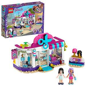 LEGO 41391 Friends Heartlake City Hair Salon Playset with Emma Mini Doll, Wigs and Hair Accessories - £12.99 (+£4.49 Non Prime) @ Amazon