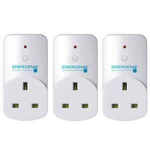 Energenie MiHome Plug Adapter - 3 Pack £17.99 @ MyMemory