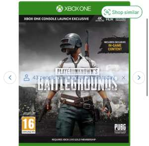 PlayerUnknown's Battlegrounds Full Xbox One Game - £2.99 (+ Free Click + Collect) @ Argos