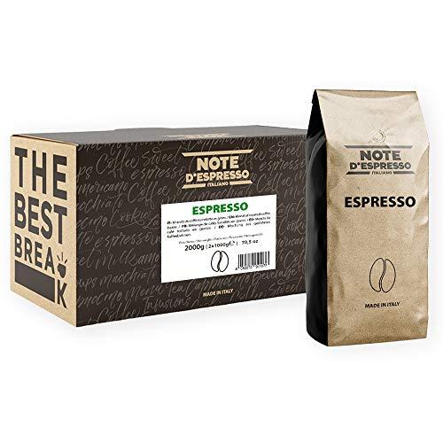 Note d'Espresso Espresso Coffee Beans 1000g x 2 pack - £10.87 (+£4.49 Non-Prime) @ Amazon
