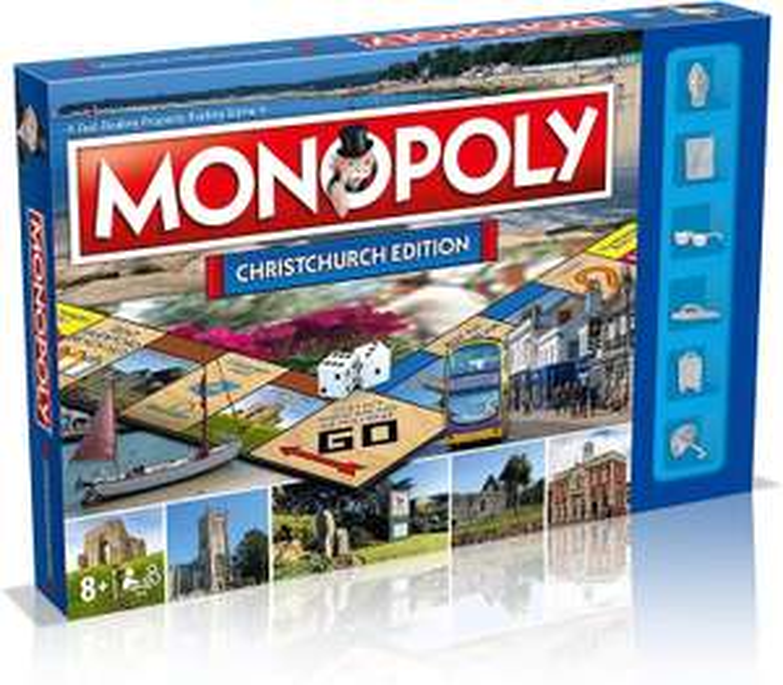 Monopoly Christchurch edition - £7.91 (+£4.49 NP) @ Amazon