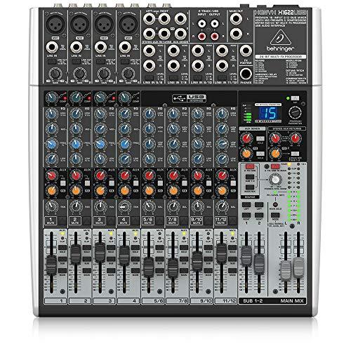 Behringer X1622USB Xenyx 16 Input 2/2 Bus Mixer £142.99 at Amazon