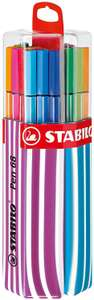 Premium Felt Tip Pen - STABILO Pen 68 Twin Pack of 20 assorted colours with hanging device £3.83 @ Amazon (£4.49 p&p non prime)