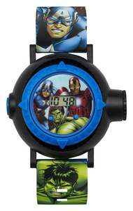Marvel Avengers AVG3536 Plastic Strap Digital Projection Watch £9.99 (UK mainland) @ Argos on eBay - FREE Click & Collect / £3.95 delivery