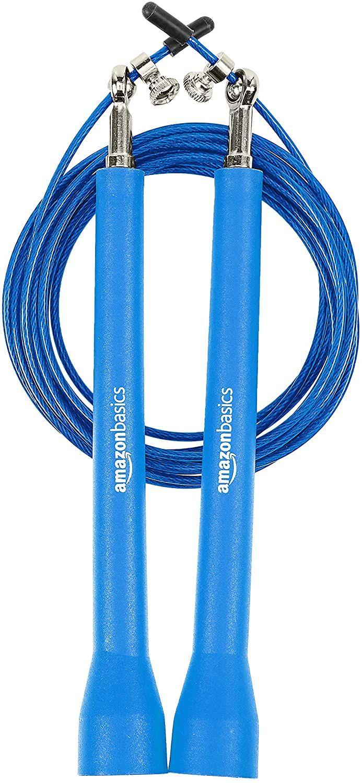 Amazon Basics Premium Plastic Speed Jump Rope Blue - £2.08 (+£4.49 non Prime) @ Amazon