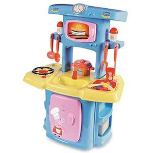 Smoby Peppa Pig Kitchen with 13 Accessories £14.67 (Prime) + £4.49 (non Prime) at Amazon