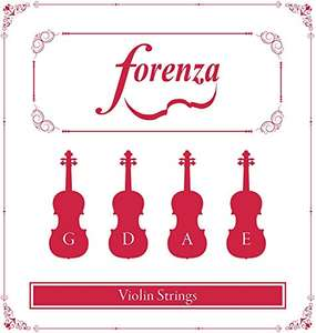 Forenza FA13VLA Violin Strings for Full Size and 3/4 and 4/4 Size £6.14 (Prime) + £4.49 (non Prime) at Amazon